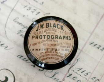 Vintage Knob Photographs Door Pull
