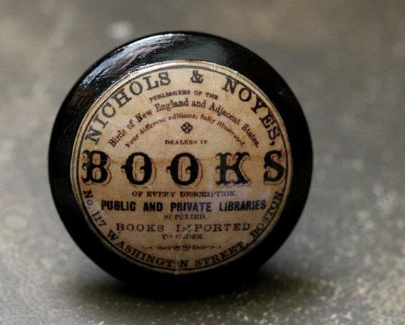 Vintage Knobs The Books Door Pulls