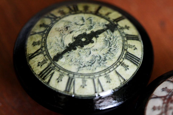 Vintage Knob Time Patina Door Pull