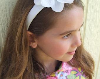 Claribel Girls Silk Flower Headband