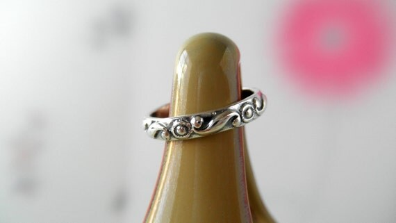 Wave Ring. Ready to Ship Size 5.25 Only. Last One.