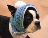 The Abominable Snow Bean Dog Hat Custom Size and Color