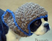 The Blue Baron Dog Hat Size Small/Medium Ready to Ship