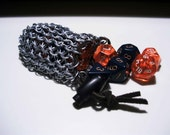 STEEL - Small Chainmail Dice Pouch
