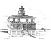 Point Lookout Lighthouse - print