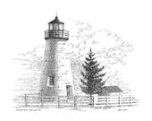 Concord Point Lighthouse - print