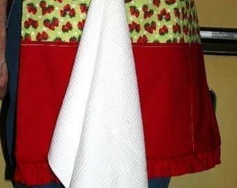 Reversible Towel Handy Apron pdf Sewing Pattern
