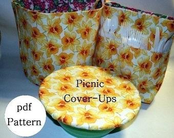 Picnic Reversible Cover-Ups pdf Sewing Pattern