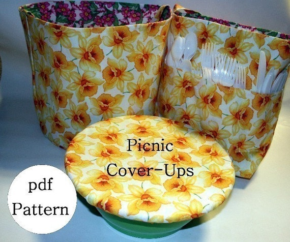 Picnic Reversible Cover-Ups pdf Sewing Pattern