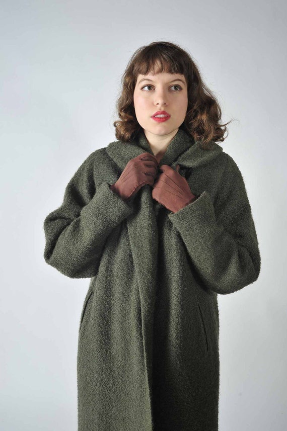 Vintage 1950s Coat Winter Fashion At Fab Gabs The By