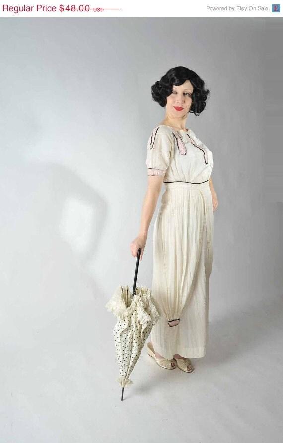30 off christmas sale vintage edwardian wedding dress antiques at