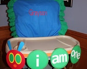 The Very Hungry Caterpillar High Chair Banner