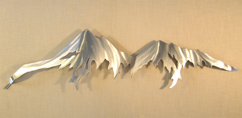 Metal Wall Art Mountains - Elitflat