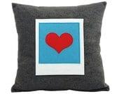 Polaroid Cushion Pillow - Instant Love