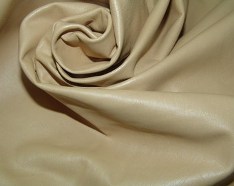 Champagne  Lambskin leather soft as butter a full 8 plus square foot piece
