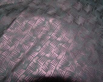 Metallic Fuchsia lambskin leather in a fun design - a full 5 square foot hide