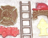 Chocolate Firefighter Gift Set