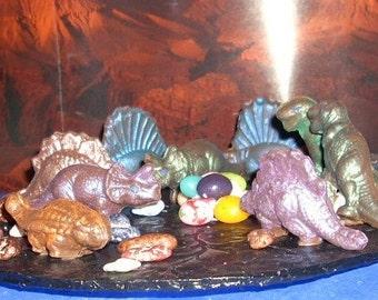 24  Chocolate Dinosaurs