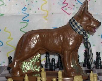 3D Chocolate German Shephard