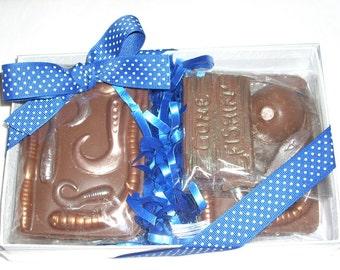 Chocolate Fishing Gift  Set