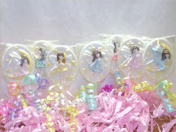 10 Chocolate Fairy Lollipops