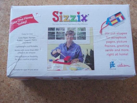 original sizzix machine instructions
