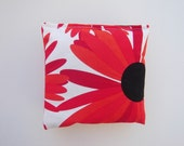 Red Flower Sachets filled with Lavender
