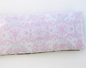 Pink and Silver Eye Pillow