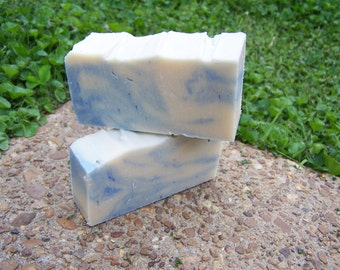 Cool Breeze  Goats milk soap with Castile and Shea Butter.  It makes your skin soft and smell great