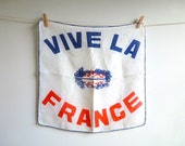 Vive la France Hanky