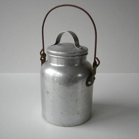 Sweet Vintage Milk Pail By Tippleandsnack On Etsy