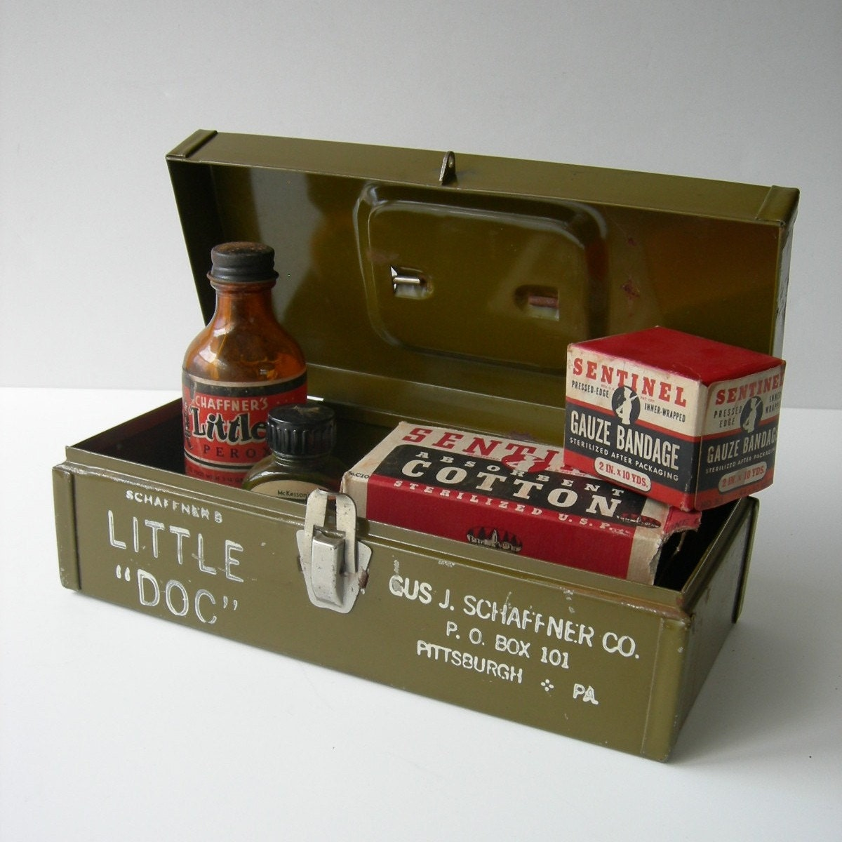 Schaffner S Little Doc 1940 S First Aid Kit By Tippleandsnack