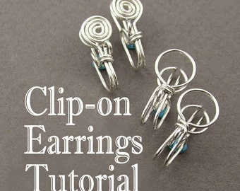 Tutorial - Clip-on Earrings