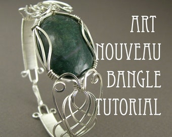 Tutorial - Art Nouveau Bangle