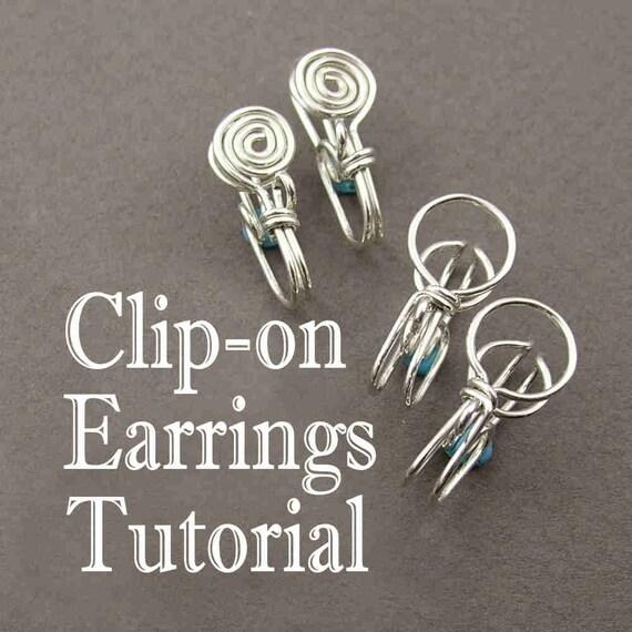 Tutorial - Clip-on Earrings