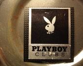Vintage Mid Century Playboy Club Playboy Bunny Matchbook Cover Magnet. original Matchbook Cover
