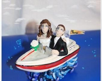 Wedding Cake Topper Bride Amp Groom Fishing By Enchantedyou54449