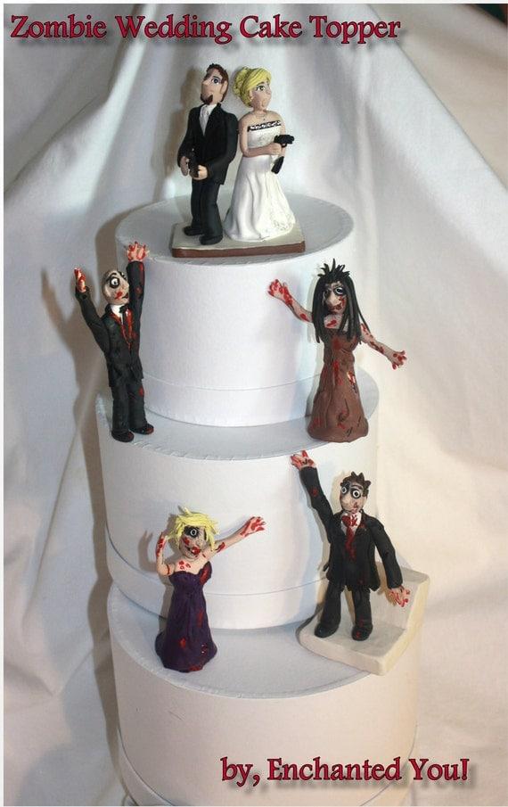 Zombie Wedding Cake Topper Buy