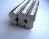 100 Neodymium Rare Earth Magnets...Size 3/8 x 1/16