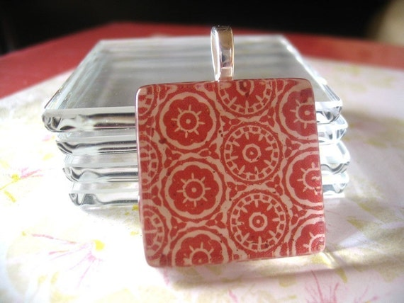 COMBO...20...1 INCH  Clear Glass Tiles...20 Small Sterling Silver Plated Bails
