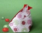 Abundance Hen -origami diagrams to make it-