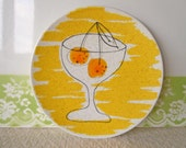 Vintage Plate Vera Neumann for Mikasa Cocktail Time