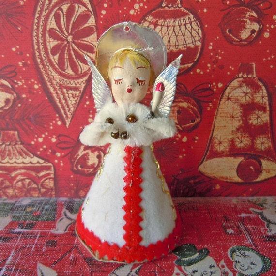 Get 40% OFF Vintage 1960 Angel Christmas Tree Decoration Ornament Kitschy Mid Century