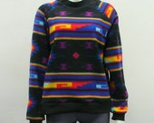 LAST ONE  Southwest Fleece Sweater
