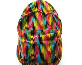 Rainbow Ikat Back Pack
