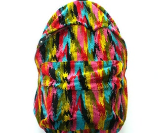SALE  Rainbow Ikat Back Pack