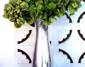 RESERVED for KimRenee82  Custom Listing: Green Hydrangea Glammed Silver Vase - Matte 4 x 6 Print
