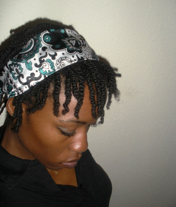 REVERSIBLE Poison Ivy Hair Scarf