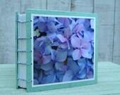 Small Pastel Hydrangea Book