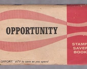 OPPORTUNITY GIFT STAMPS FULL BOOK  good condition ALMOST 1000 STAMPS